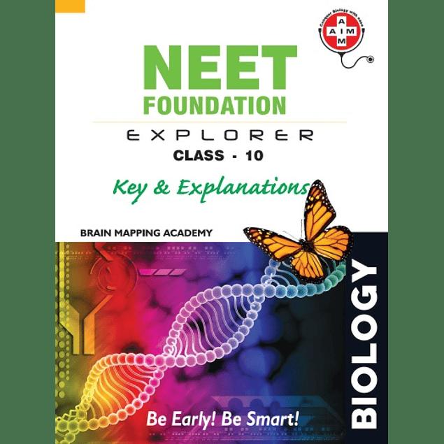 Biology Standard 10 X NEET NTSE KVPY Foundation Explorer Key Explanation Brain Mapping Academy Hyderabad Class 10