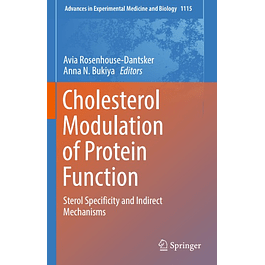 Cholesterol Modulation of Protein Function: Sterol Specificity and Indirect Mechanisms