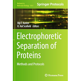 Electrophoretic Separation of Proteins: Methods and Protocols