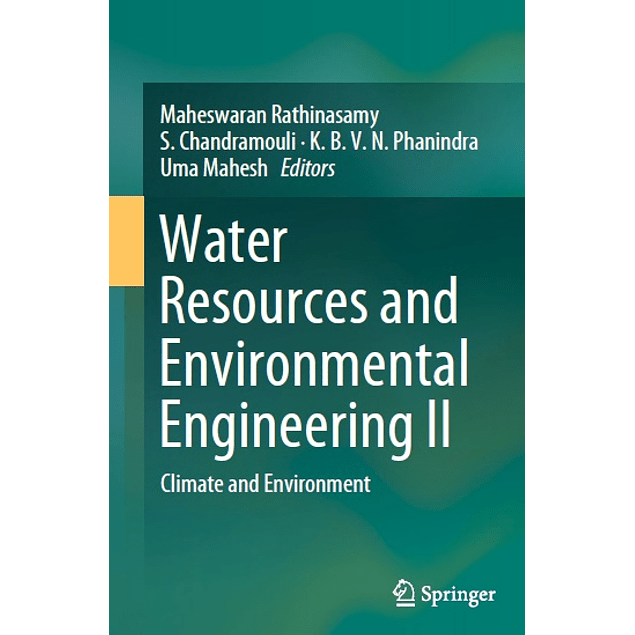 Water Resources and Environmental Engineering II: Climate and Environment