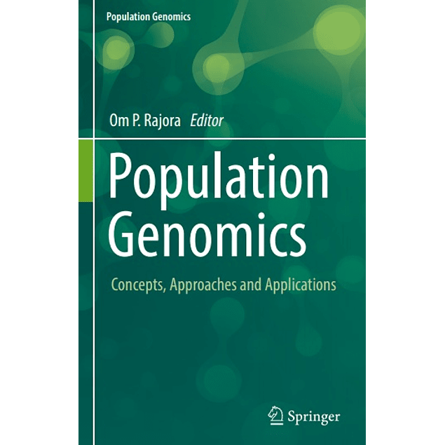 Population Genomics: Concepts, Approaches and Applications