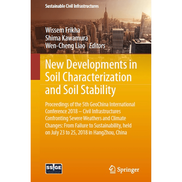 New Developments in Soil Characterization and Soil Stability