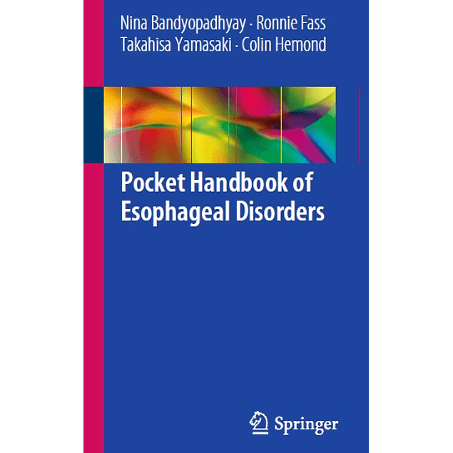 Pocket Handbook of Esophageal Disorders