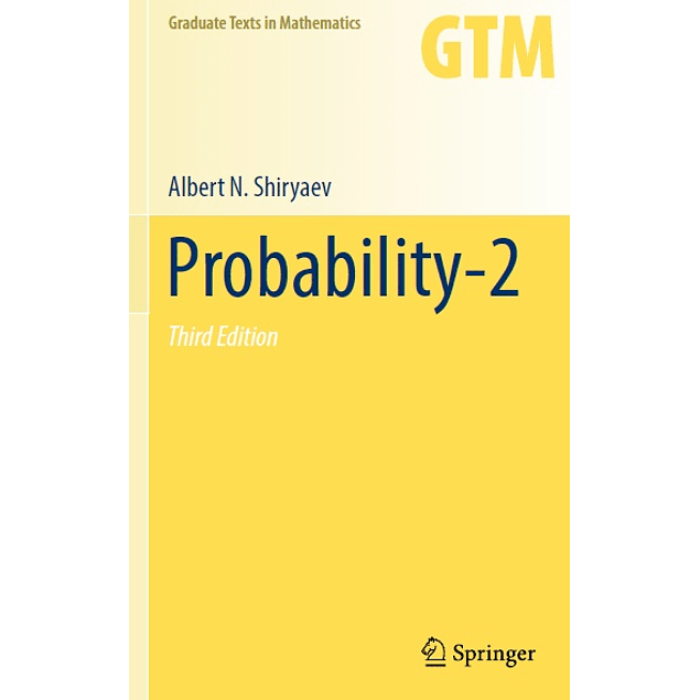 Probability: Vol. 2