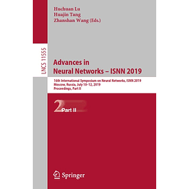 Advances in Neural Networks – ISNN 2019