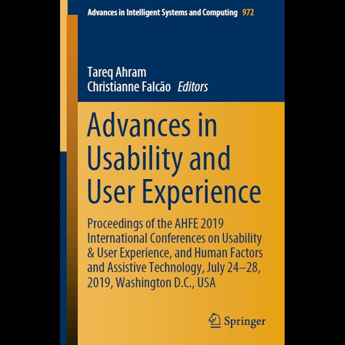 Advances in Usability and User Experience – книга о полезности иммерсивных технологий.