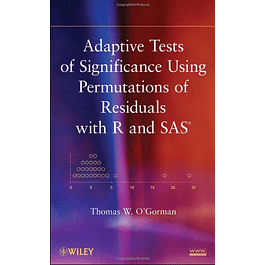 Adaptive Tests of Significance Using Permutations of Residuals with R and SAS