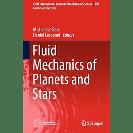 Fluid Mechanics of Planets and Stars