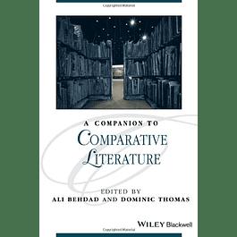 A Companion to Comparative Literature