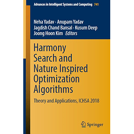 Harmony Search and Nature Inspired Optimization Algorithms: Theory and Applications, ICHSA 2018