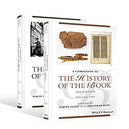 Companion to the History of the Book, 2 Volume Set
