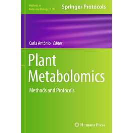 Plant Metabolomics: Methods and Protocols