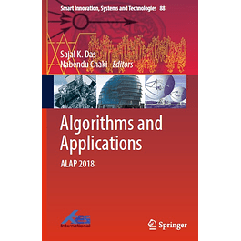 Algorithms and Applications: ALAP 2018