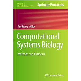 Computational Systems Biology: Methods and Protocols