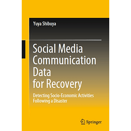 Social Media Communication Data for Recovery: Detecting Socio-Economic Activities Following a Disaster