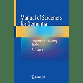 Manual of Screeners for Dementia: Pragmatic Test Accuracy Studies