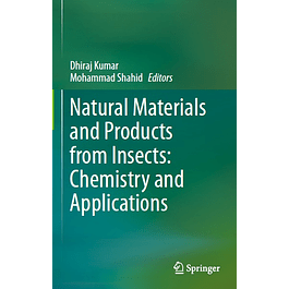 Natural Materials and Products from Insects: Chemistry and Applications