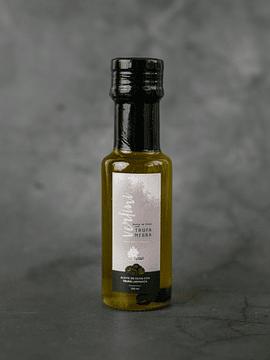 Aceite con láminas de Trufa Negra - 100ml (Descuento Día de la Madre  -15% Aplicado)