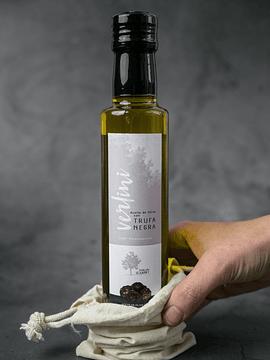 Aceite con láminas de Trufa Negra - 250ml