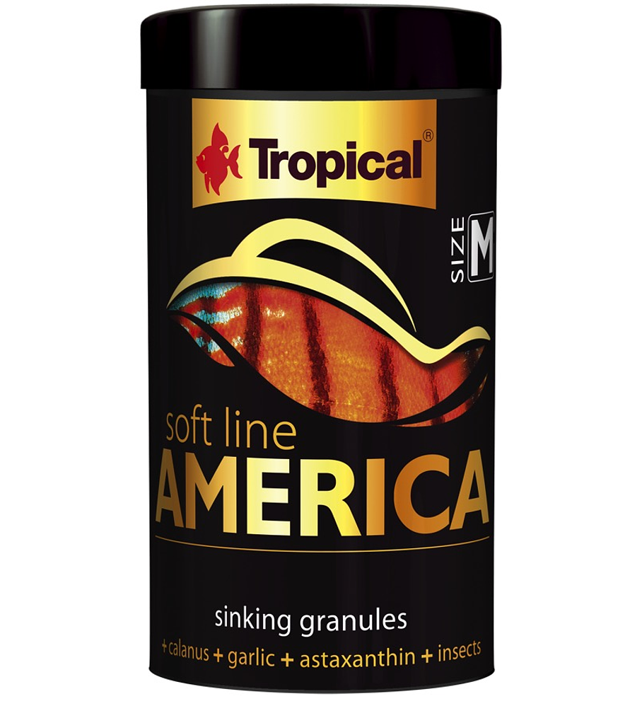 Tropical Soft Line America Size M  - 250 ml/150 g