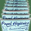 Papel higiénico bolsita para dispensador antiguo - Paquete x 100