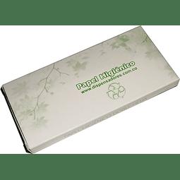 Papel higiénico para dispensador - Paquete x 100