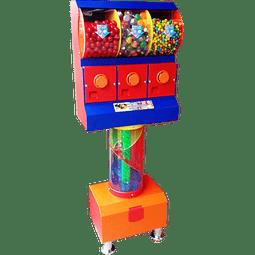 Dispensador de Chicles/Dulces con Tobogán x 3