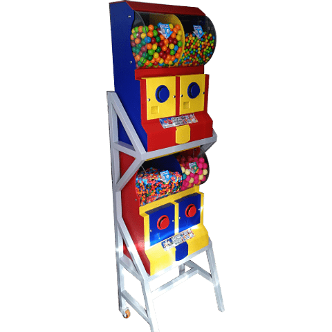 Dispensador de Chicles/Dulces con Base x 4
