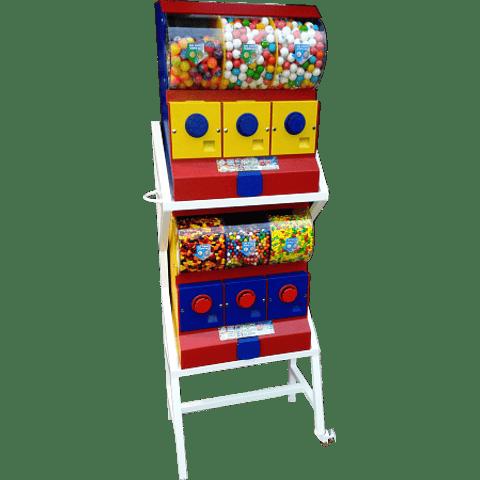 Dispensador de Chicles/Dulces con Base x 6