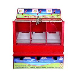 Dispensador cigarrillos con monedero x 3