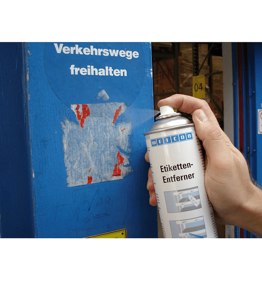 Spray Removedor De Etiquetas Y Adhesivos 500 Ml Weicon