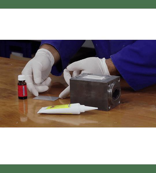 Adhesivo Estructural Para Metales Y Plasticos Duros 60grs Pastoso Rk-1300