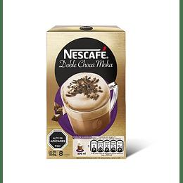Nescafé Doble Choca Moka 8 Sobres