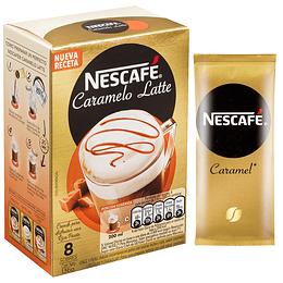 Nescafé Caramelo Latte 8 Sobres