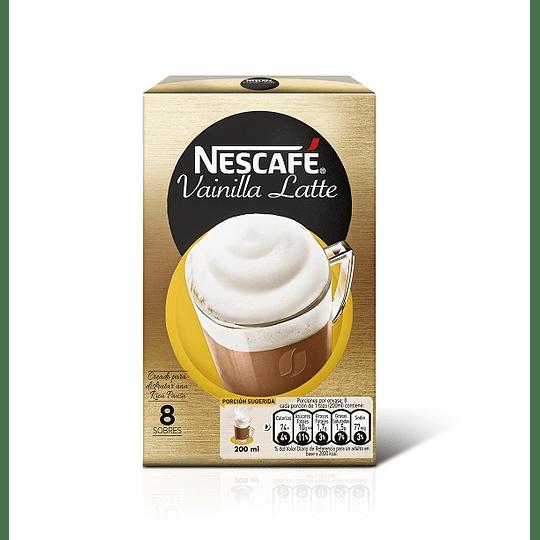 Nescafé Vainilla Latte 8 Sobres