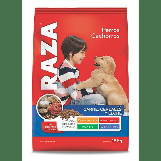 Alimento Perro Cachorro Carne Raza 15 KG