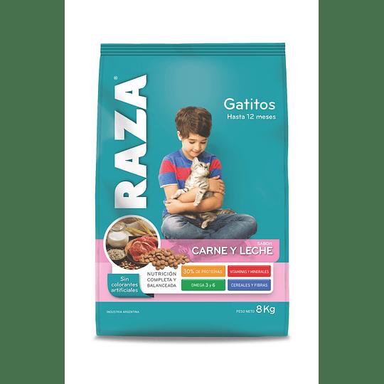 Alimento Gatito Carne Raza 8 KG