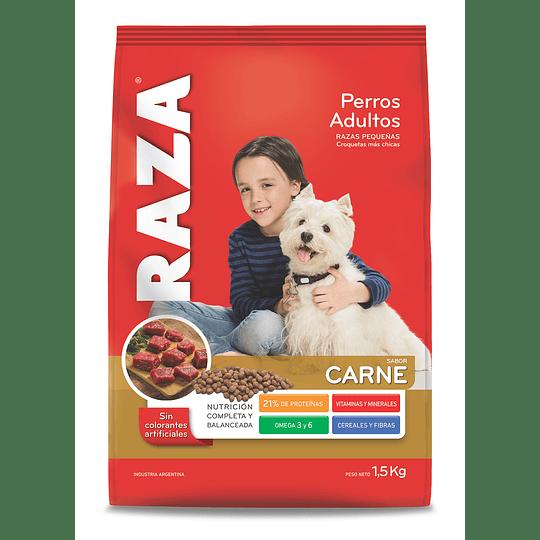 Alimento Perro Adulto Razas Pequeñas Carne Raza (6 x 1.5 KG)