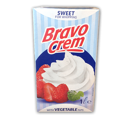 Crema Vegetal Chantillí Azucarada Bravo (6 x 1 LT)