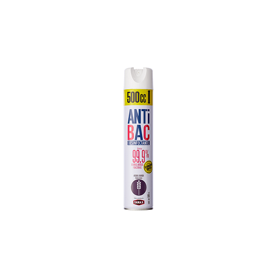 Desinfectante Aerosol Tanax Antibac Lavanda (6 x 500 ML)