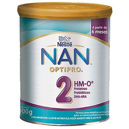 Leche NAN 2 Optipro 900 GR (6-12 meses)
