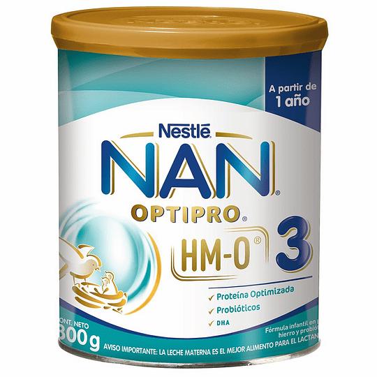 Leche NAN 3 Optipro 800 GR (Desde 1 año)