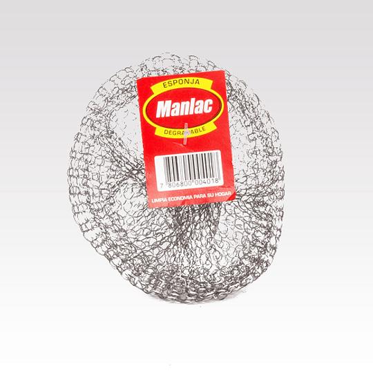 Esponja de Acero Manlac 50UD