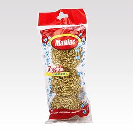Esponja Dorada Manlac (10 x 3 UD)