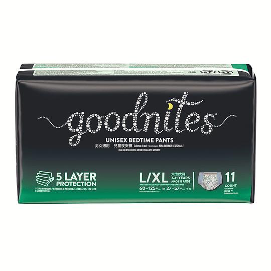 Calzones para incontinencia Goodnites G/XG (2 x 11 UD)