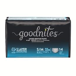 Calzones para incontinencia Goodnites P/M (2 x 14 UD)