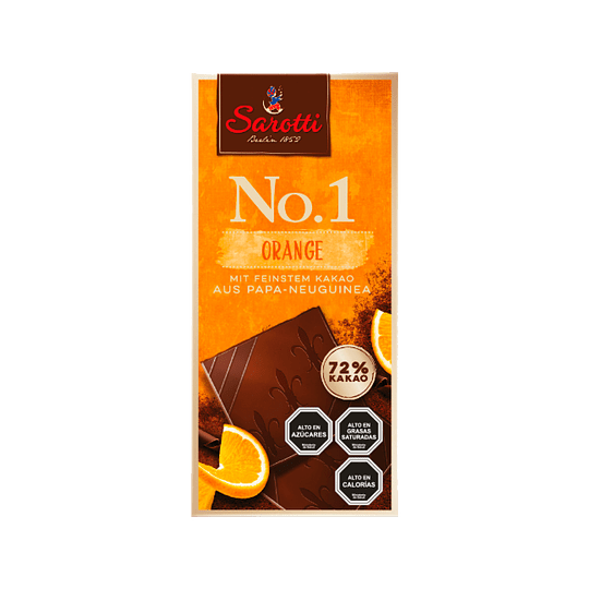 Chocolate en Barra Sarotti 100 GR