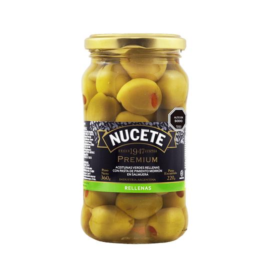 Aceitunas Nucete Premium Frasco 360 GR