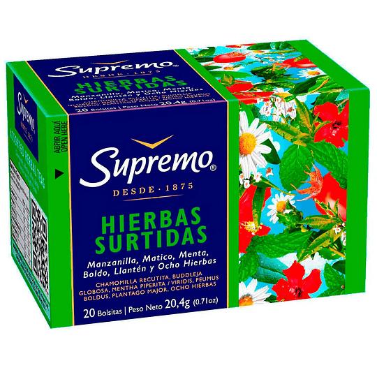 Infusión de Hierbas Supremo (12 x 20 bolsitas)