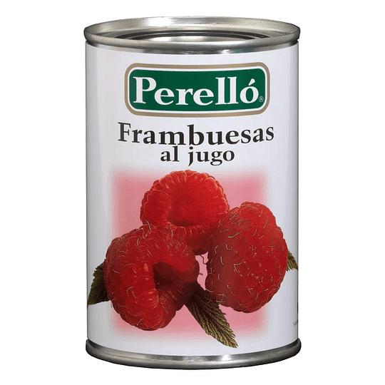 Frambuesas al Jugo Perelló (6 x 430 GR)